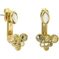 Adore Mixed Crystal Jacket Earrings