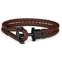 Paul Hewitt Black Ion-plated Steel Phrep Bracelet