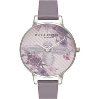 Image of Embroidered Dial Grey Silver & London Grey Watch