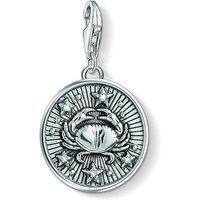 Ladies Thomas Sabo Sterling Silver Charm Club Zodiac Sign Cancer Charm