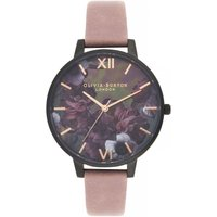 After Dark Big Dial Watch With Black Mother-of-pearl Watch