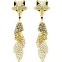 Swarovski March Fox Earrings