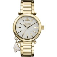 Ladies Vivienne Westwood Gold Heart Watch