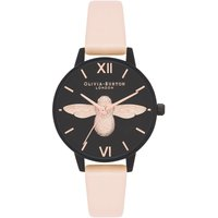After Dark Black Bee & Nude Peach Watch