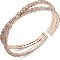 Anne Klein Jewellery Pave Cuff Bracelet