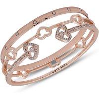 Image of 3 Set Heart Bangles Bracelet - Gift Set