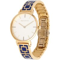 Maya Cobalt Blue and Gold Bangle Watch