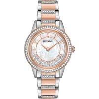 Ladies Bulova Quartz Dress Stainless Steel Watch