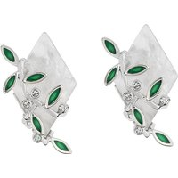 Image of Glass Shard Clip Earrings