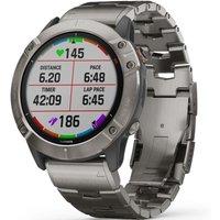 Garmin fenix 6X Pro Solar Bluetooth Smartwatch
