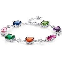 Image of Thomas Sabo Magic Stones Colourful Star Bracelet