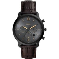 Fossil Neutra Chrono Brown Leather Watch