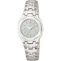Ladies Citizen Eco-drive Silhouette Stainless Steel Watch