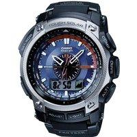 Mens Casio Pro Trek Wave Ceptor Alarm Chronograph Radio Controlled Watch