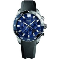 Mens Hugo Boss Deep Blue Chronograph Watch