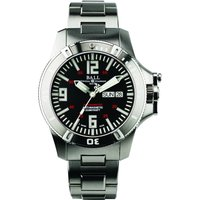 Image of Mens Ball Engineer Hydrocarbon Spacemaster Glow Chronometer Automatic Watch