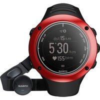Unisex Suunto Ambit2 Bluetooth S HR Red Alarm Chronograph Watch