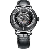 Mens Fiyta 3D Time Skeleton Limited Edition Automatic Watch