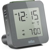 'Braun Clocks Digital Alarm Clock Radio Controlled