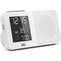'Braun Clocks Digital Radio Alarm Clock Radio Controlled