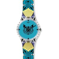 Image of Unisex Swatch New Gent - Wild Totem Watch