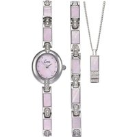 Ladies Limit Silver Coloured Gift Set