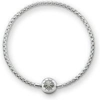 Ladies Thomas Sabo Sterling Silver Karma Beads Bracelet