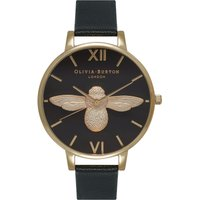 3d Bee Black & Gold Watch