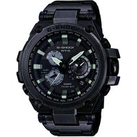 'Mens Casio G-shock Premium Mt-g Aged Silver Alarm Chronograph Radio Controlled Watch