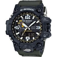 Mens Casio G-Shock Premium Mudmaster Compass Alarm Chronograph Radio Controlled Watch
