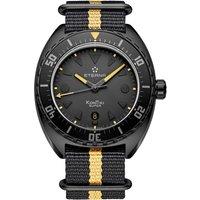Mens Eterna Super Kon Tiki Black Limited Edition Automatic Watch