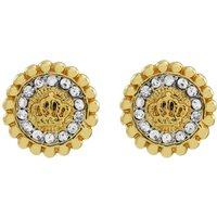 Ladies Juicy Couture PVD Gold plated Jet Set Stud Earrings