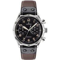 Mens Junghans Meister Pilot Automatic Chronograph Watch