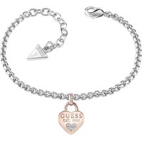 Ladies Guess All About Shine Silver/Rose Gold Bracelet