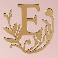 Modern Fairy Tale Acrylic Initial - Metallic Gold - Letter N