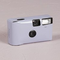 Lilac Disposable Camera Solid Colour Design