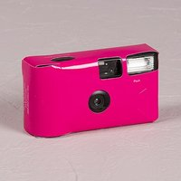 Fuchsia Disposable Camera Solid Colour Design