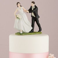 \A Race to the Altar\ Couple Figurine