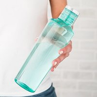 Plastic Water Bottle - Teal/turquoise
