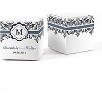 Lavish Monogram Cube Favour Box Wrap