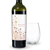 Hearts Wine Label