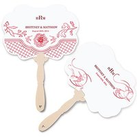 French Whimsy Personalised Hand Fan