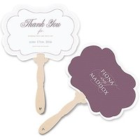 Contemporary Vintage Personalised Hand Fan