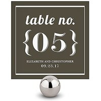 Bistro Bliss Square Table Numbers