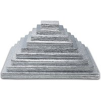 Square Foil Wrapped Cake Boards - Square Foil Wrapped Cake Boards in SIZE