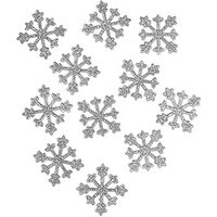 Sparkle Snowflakes in Silver