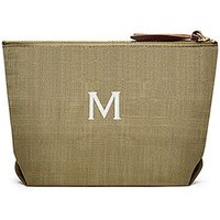 Napa Linen Cosmetic Bag - Dark Olive