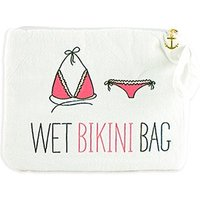 Wet Bikini Bag - White
