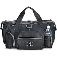 Exploration Duffle Bag - Black And Gray
