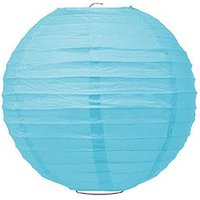 Small Paper Lantern - Turquoise